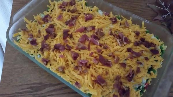 Mom's Layered Lettuce Salad Recipe