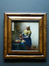 "Photo: Vermeer's ""Milkmaid"""