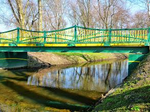 Photo: 67,6 km kładka w parku w Rawie Mazowieckiej