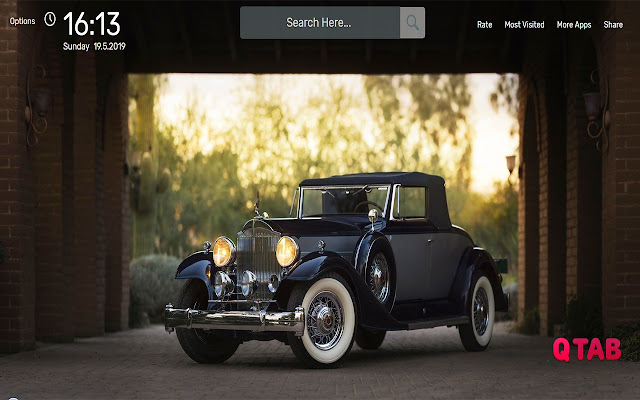 Vintage Cars Wallpapers HD Theme
