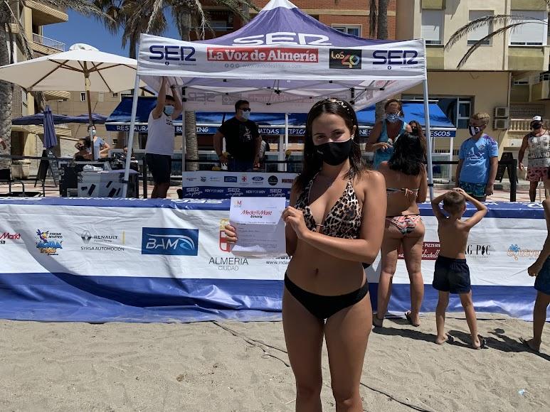 Marina, la otra ganadora del concurso de Media Markt.