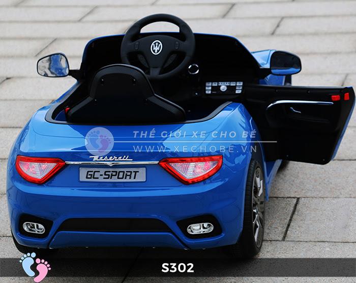 Ô tô cho trẻ em cao cấp Maserati S-302 12
