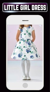Little Girl Dress Cute Baby Frock Fashion Idea New - náhled