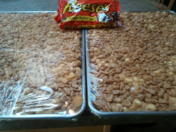Just made a quadruple recipe of this candy for an up coming event. It is always a big hit.c Hope I don't run out.