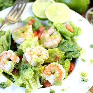 Avocado Cilantro Lime Shrimp Salad Recipe
