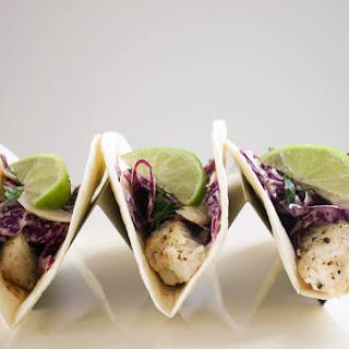 Broiled Tilapia Tacos.