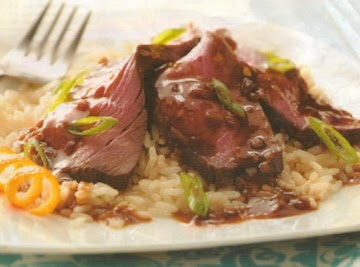Orange Teriyaki Beef Roast Recipe