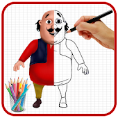 How To Draw Motu Patlu