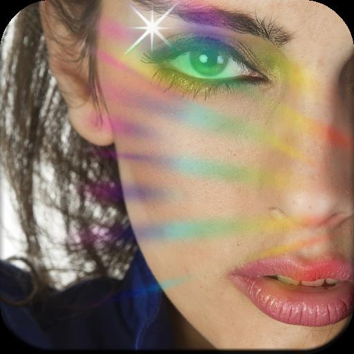 Rainbow Photo Effect Icon