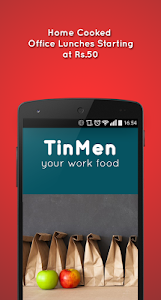 TinMen Homely Food Ordering screenshot 0
