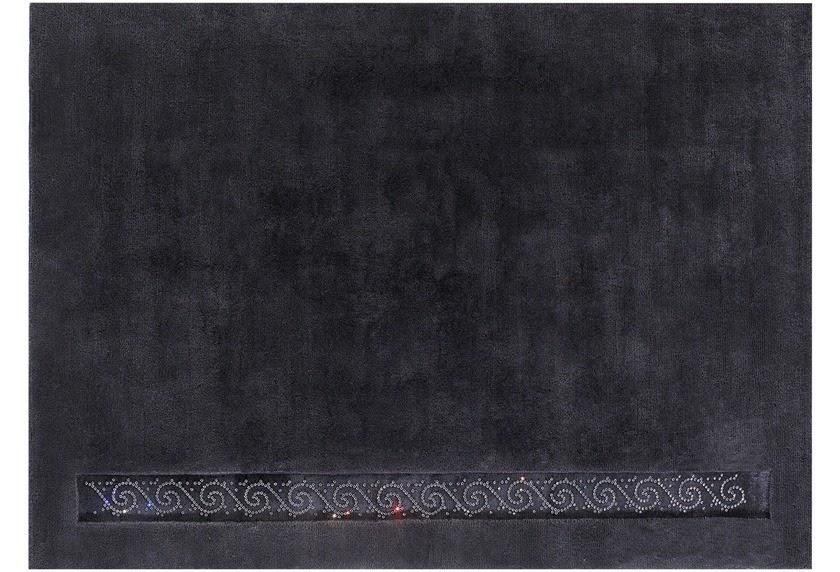 dywan nowoczesny z wełny luxor style royal swarovsky elements