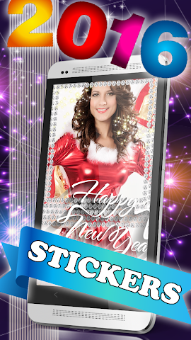 android New Year 2016 Greeting Cards Screenshot 0