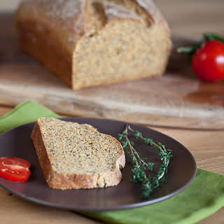 Carrot Bread With Poppy Seeds.