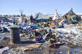 Billedresultat for dakota access pipeline debris