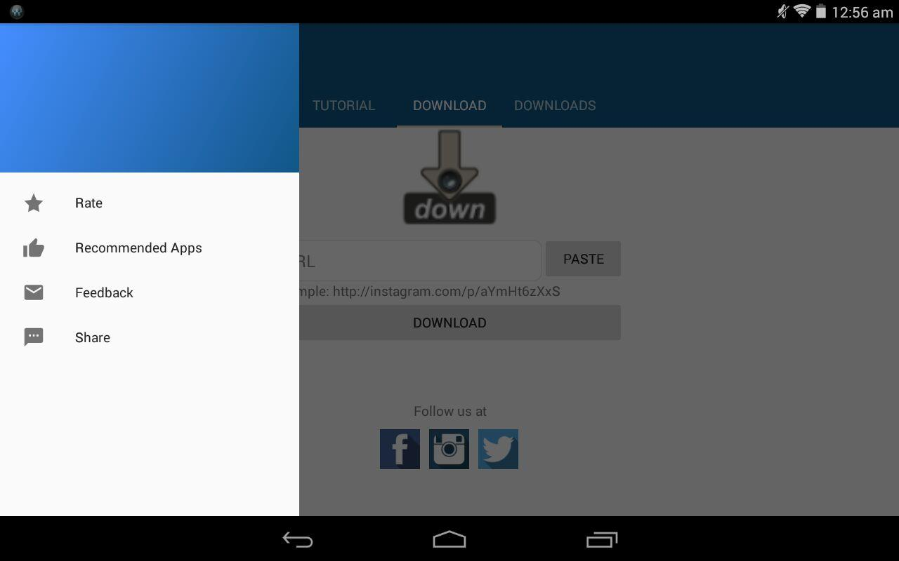 Video downloader for instagram android apps on google play video downloader for instagram screenshot ccuart Choice Image