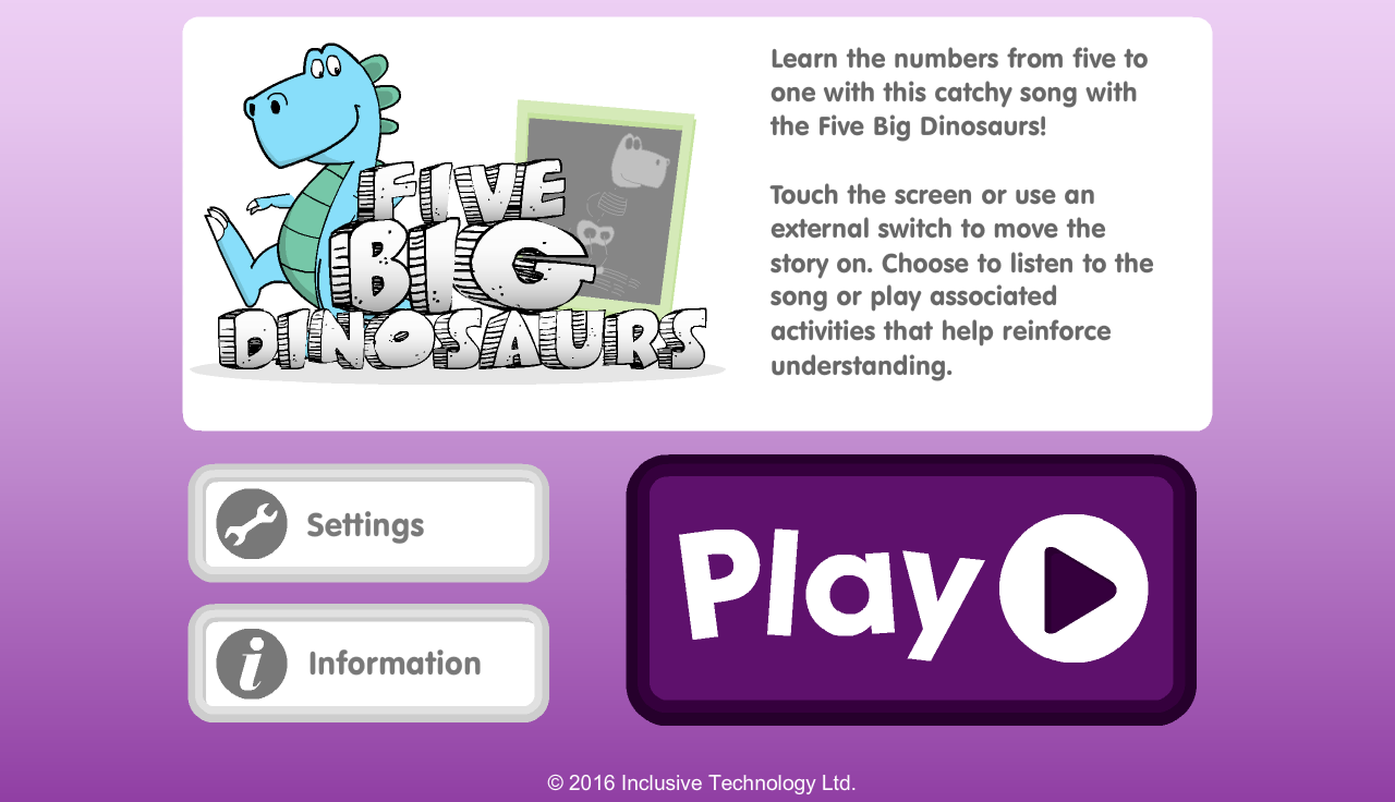 Five Big Dinosaurs- screenshot