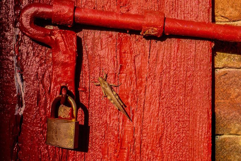 Cancello rosso di Yuma