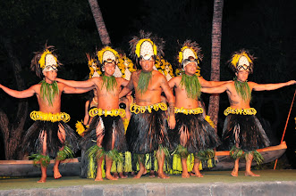 Photo: Traditional dancing at the Old Lahaina Luau.