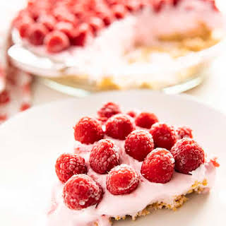 Raspberry Lemonade Pie.