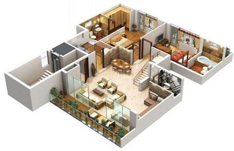descargar diseño de la casa 3d andorid-diseño de la casa 3d 1.0 de