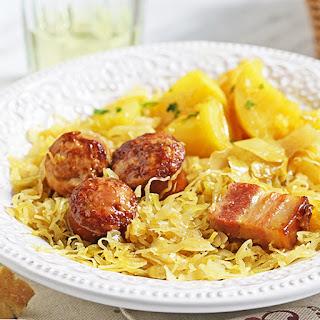 Kielbasa and Sauerkraut in Instant Pot Recipe