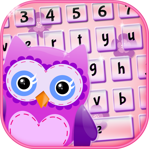 Cute Owl Keyboard Themes App