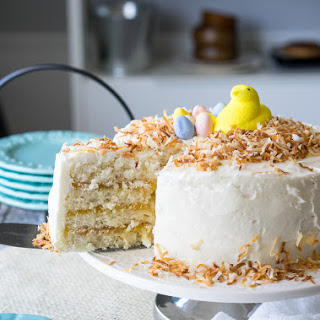 Coconut Lemon Layer Cake