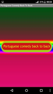 Portuguese Comedy Back To Back - náhled