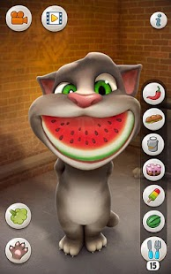 Talking Tom: miniatura de captura de pantalla