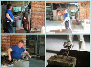 Photo: Murano glass-making demonstration