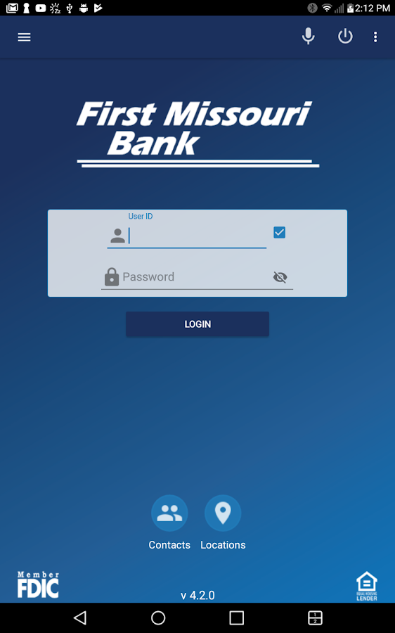 FMB Mobile First Missouri Bank- screenshot