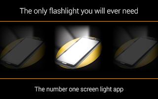 Screenshot of Screen Flashlight