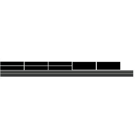 Shadowline fönsterlister bil