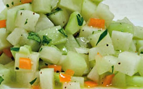 Sauteed Chayote With Garlic And Herbs Recipe Just A Pinch Recipes