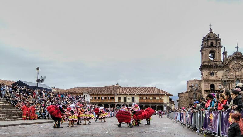 carnival+cusco+plaza+de+armas+cusco+central+square+Iglesia+de+Compañía+de+Jesús+Church+Society+jesus+church+Cusco+inca+cusco+peru