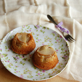 Pear And Almond Muffins
