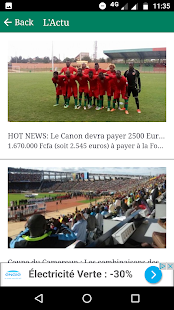 ZoneFoot Cameroun - náhled