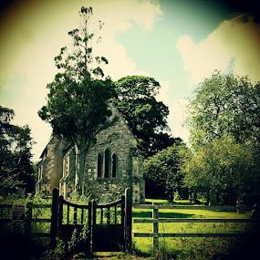 Odstock #church #village #17thCentury #UK #Wiltshire #sarahlaurel #stone #graveyard #pretty by Sarah Laurel - Instagram & Mobile Instagram