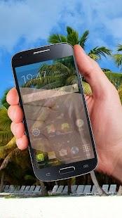 Průhledný Telefon Displej trik - náhled