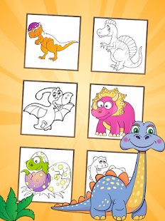 Dinosaurs Coloring Pages