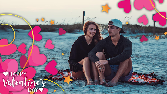 Happy Valentine Day Photo Frame - náhled