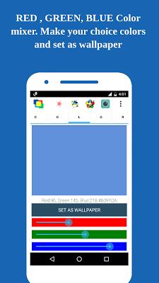 Color Wallpaper 1million color - screenshot