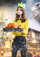 Photo: Jenna Coleman as Clara Oswald in the Doctor Who Christmas Special 2013, The Time of the Doctor.