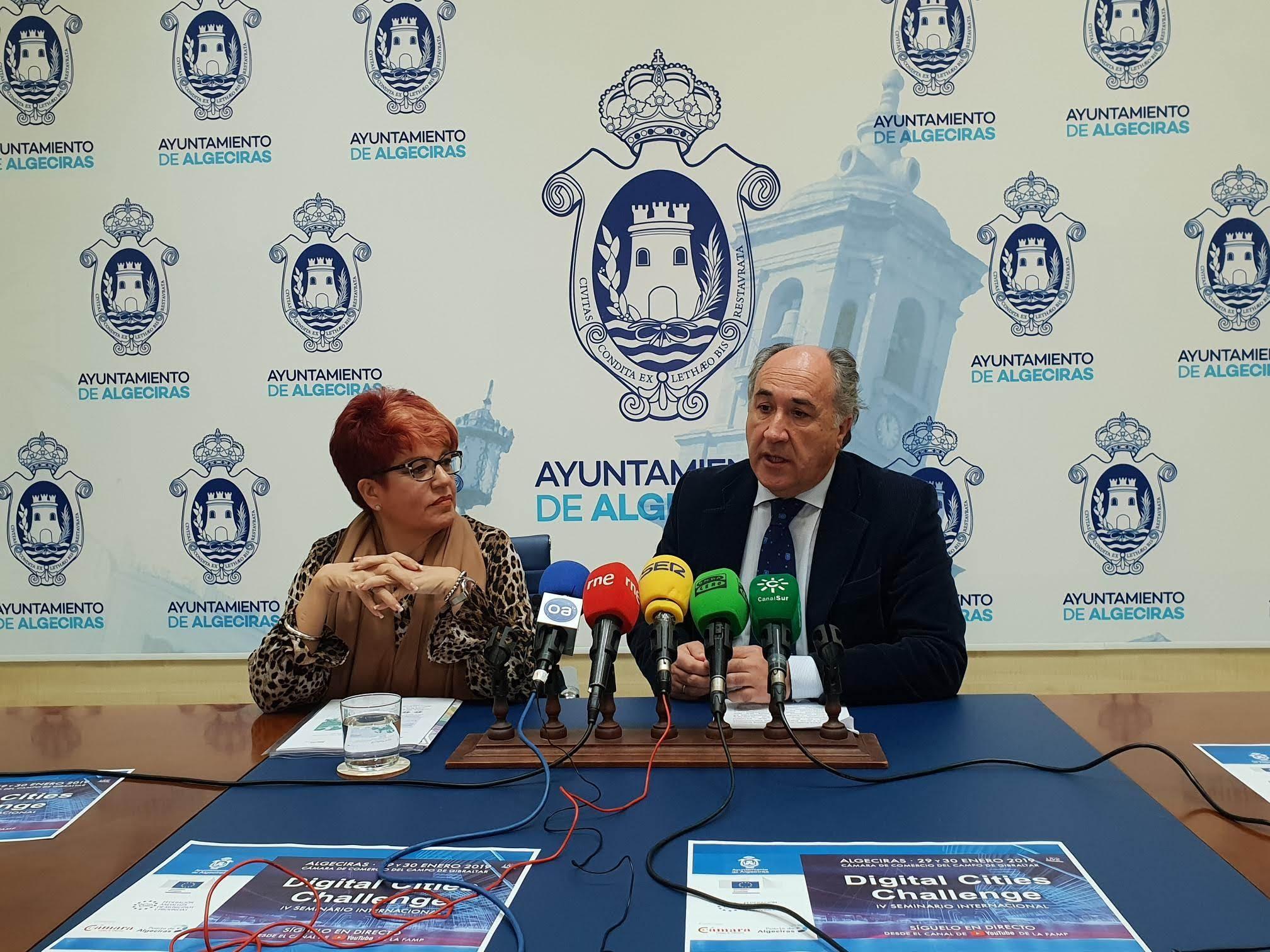 Presentado el IV Seminario Internacional Digital Cities que se celebrará en Algeciras