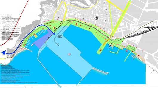 Así será el puerto-ciudad: un paseo junto al mar de Las Olas a San Miguel