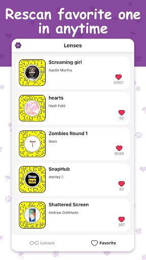 Lenses Codes For Snapchat Studio 1.0 screenshots 3