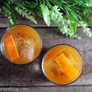Tangerine Basil Cocktail
