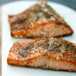 Brown Sugar Smoked Salmon.