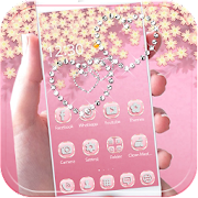 App Theme Rose Gold Diamond APK for Windows Phone