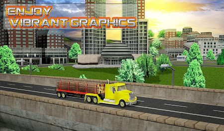 Modern Truck Driving 3D 1.1 screenshot 40686